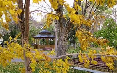Autumn Desktop Seasonal Wallpapers Park Backgrounds Holidays