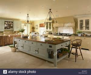 island kitchen units a large kitchen island unit stock photo royalty free image 23728260 alamy