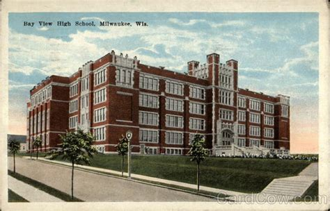 Bay View High School Milwaukee, Wi