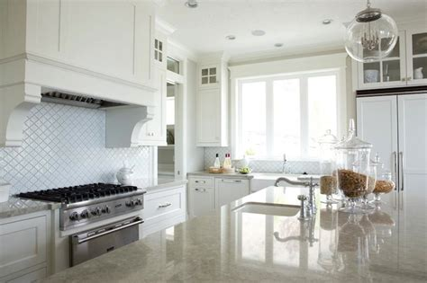 Stainless Steel Canisters Kitchen Gray Granite Countertops Transitional Kitchen Davies Development