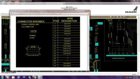 mack cx  power  road speed fault engine