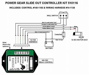 Power Gear Slide Out Controller Kit  Upgraded Version  510116