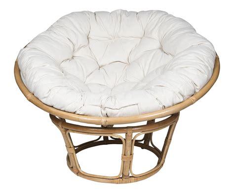chaise boule fauteuil papasan en rotin serang