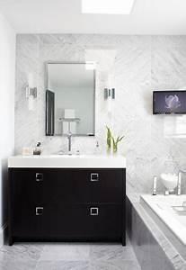 30, elegant, black, , u0026, white, colored, bathroom, design, ideas