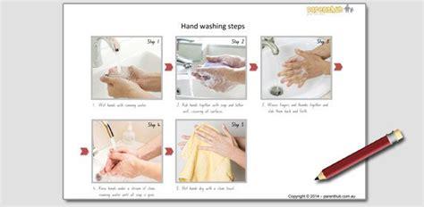 kids activity making hand washing posters parenthub
