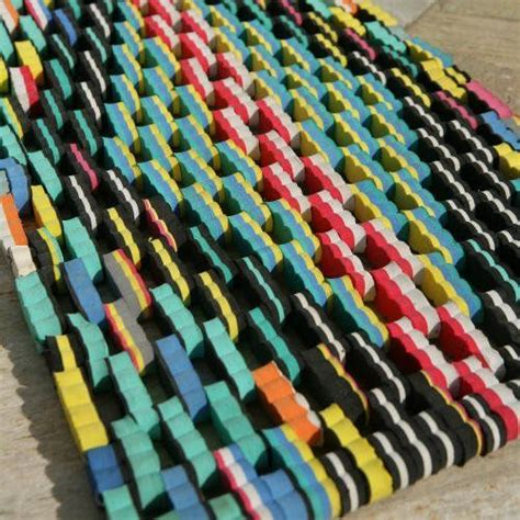 Recycled Flip Flop Doormat by Flip Flop Doormat Made From Recycled Sandals Small 15