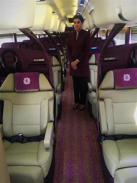 pakistans  high luxury bus service