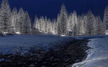 Winter Scenes Desktop Wallpapers 3d Scene