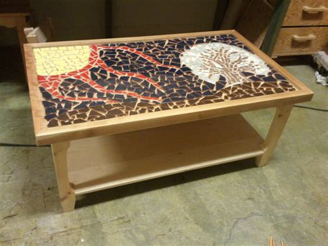 coffee table exceptional mosaic coffee table mirror