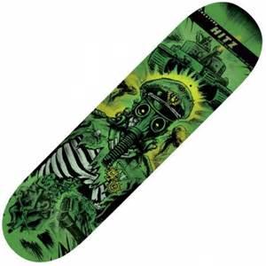 Zero Skateboard Deck 80 by Creature Skateboards Creature Sam Hitz Give Em Hell