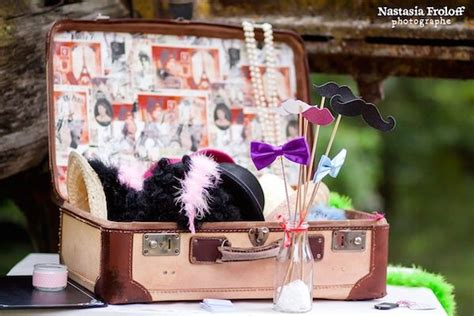 photo booth annees  mariage wedding idee mariage
