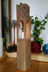 Säulen Aus Holz : windlicht laterne aus holzbalken skulptur alt eichenbalken stele dekos ule lampen holz ~ Orissabook.com Haus und Dekorationen