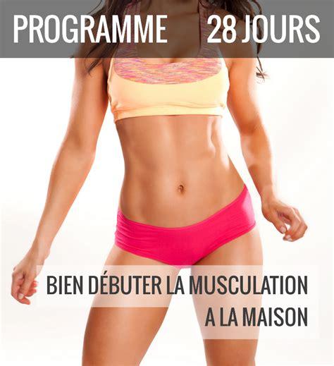programme de musculation 224 la maison musculation au f 233 minin