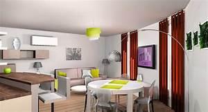 best amenagement salon 20m2 photos ridgewayngcom With amenagement cuisine salon 20m2