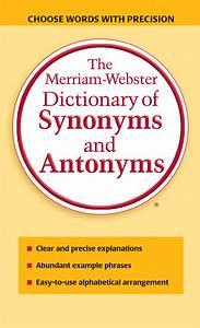 Antonyms dictionary