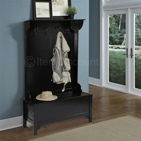 Entryway Benches With Storage And Coat Rack - wood entryway mudroom tree shoe storage bench hat