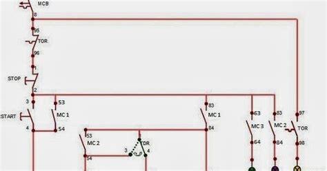 syofyans blog rangkaian motor listrik  fasa terhubung