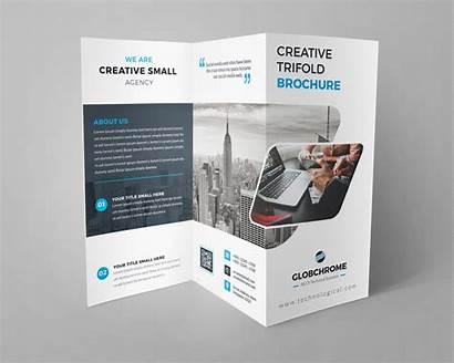 Brochure Fold Tri Creative Professional Template Minsk