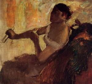 Rose Caron - Edgar Degas - WikiArt.org - encyclopedia of ...