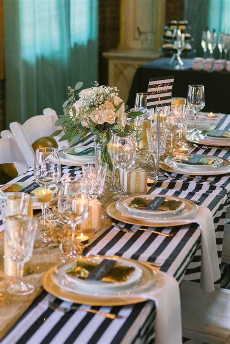 sparkly new year s wedding inspiration i do weddings striped wedding wedding