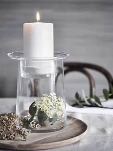 Glass, Pillar, Candle, Holder