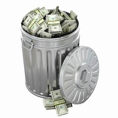 Cash Trash Roll Holding There Printing Presses