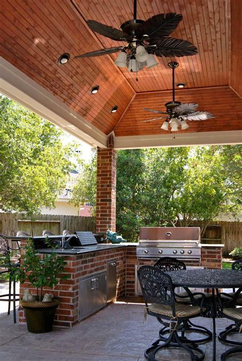 patio cover  outdoor kitchen  waterside estates