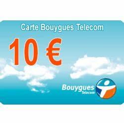 Comment gagner 10 euros de recharge Bouygues Tel sans code