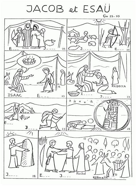 Jacob En Ezau Kleurplaat by Free Coloring Pages Jacob And Esau Coloring Home