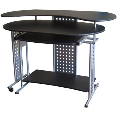 computer desk at walmart comfort products regallo expandable computer desk