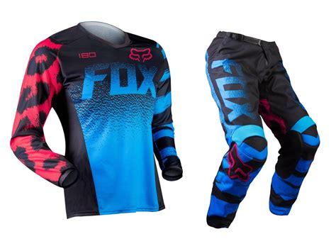 motocross gear for girls fox 2015 mx 180 kids blue red pink motocross dirt bike