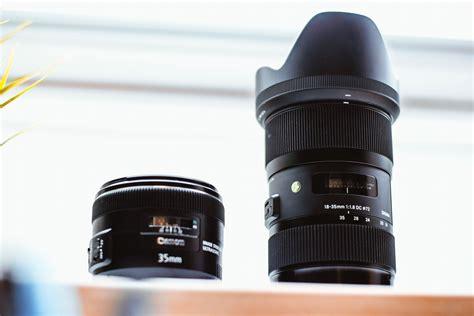 lens camera nikon dslr lenses close background blurred filters photographer