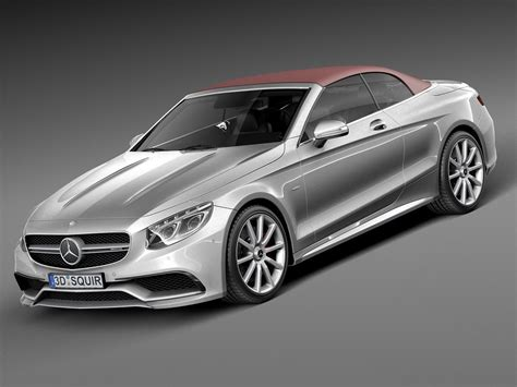 Request a dealer quote or view used cars at msn autos. Mercedes-Benz S63 AMG Cabriolet 2017 3D Model .max .obj .3ds .fbx .c4d .lwo .lw .lws - CGTrader.com