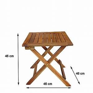 Petite Table Basse Pliante : table d appoint pliable en bois dionysos table basse pliante en bo ~ Melissatoandfro.com Idées de Décoration