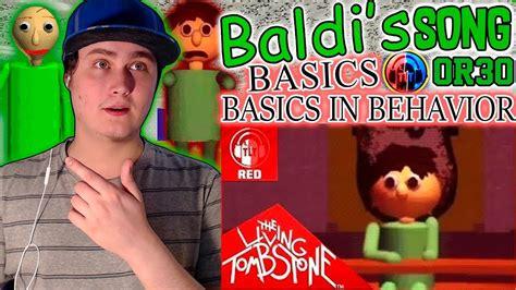 Baldi's Basics Song- Basics In Behavior [red]- The Living