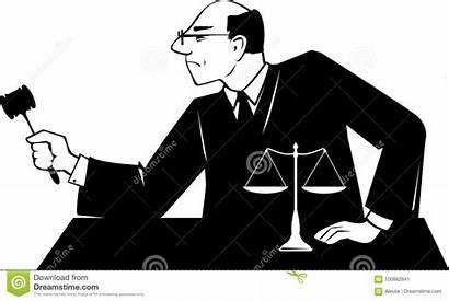 Judge Clip Juez Silhouette Eps Male Gavel