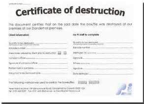microsoft resume templates word certificate of destruction template template design