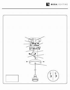 Besa Lighting Flower  Mini Pendants 12v  User Manual
