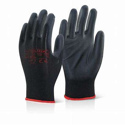 Gloves Pu Coated Glove Ppe Workwear Pair