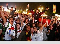 Germany fans across the world party to celebrate nation's