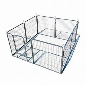 large heavy duty 8 panel 32quot cage pet dog cat barrier With big dog fence cage