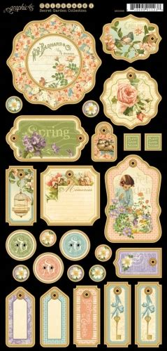 » New Graphic 45 French Country And Secret Garden