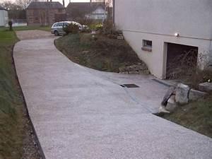 Descente de garage en beton lave ou desactive 36 for Descente de garage en beton desactive