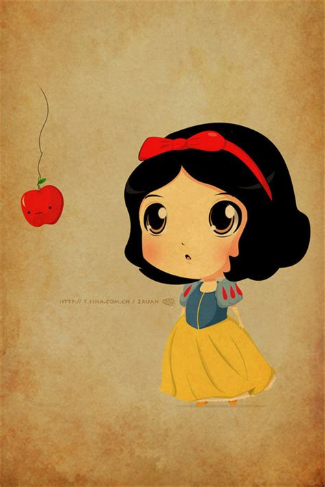 apple cartoon cute disney draw image