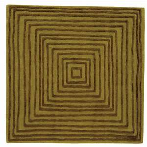 tapis carre design laps par now carpets zendart design With tapis carré design