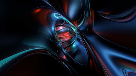 Dark 3d Abstract Wallpapers