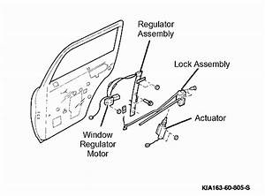I Need A Diagram On How To Replace The Left Rear Window Motor