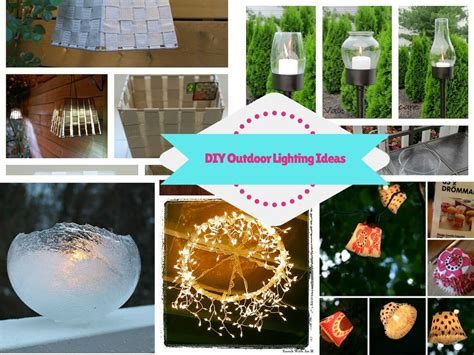 8 bright and gorgeous diy outdoor lighting ideas