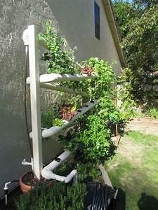 Vertikal Garten System : self watering pvc pipe garden good ideas pinterest ~ Sanjose-hotels-ca.com Haus und Dekorationen