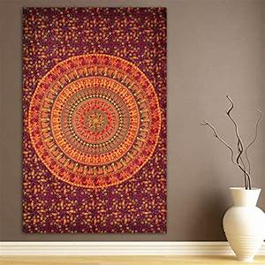 Elephant & Camel Tapestry, Indian Hippie Wall Hanging